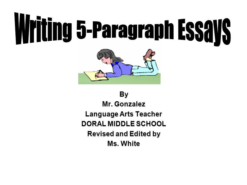 writing a conclusion paragraph middle school