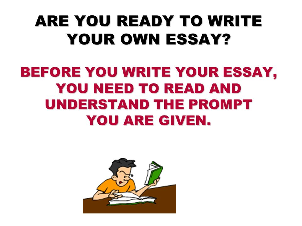 writing paragraph essays ppt video online  are you ready to write your own essay