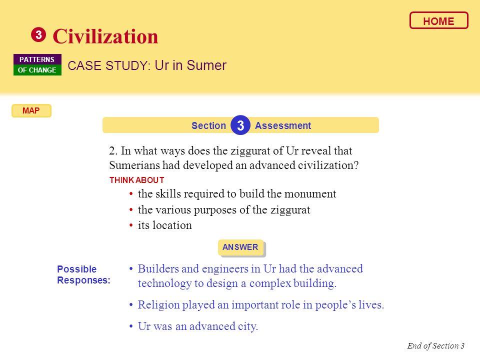 Civilization 3 CASE STUDY: Ur in Sumer 3