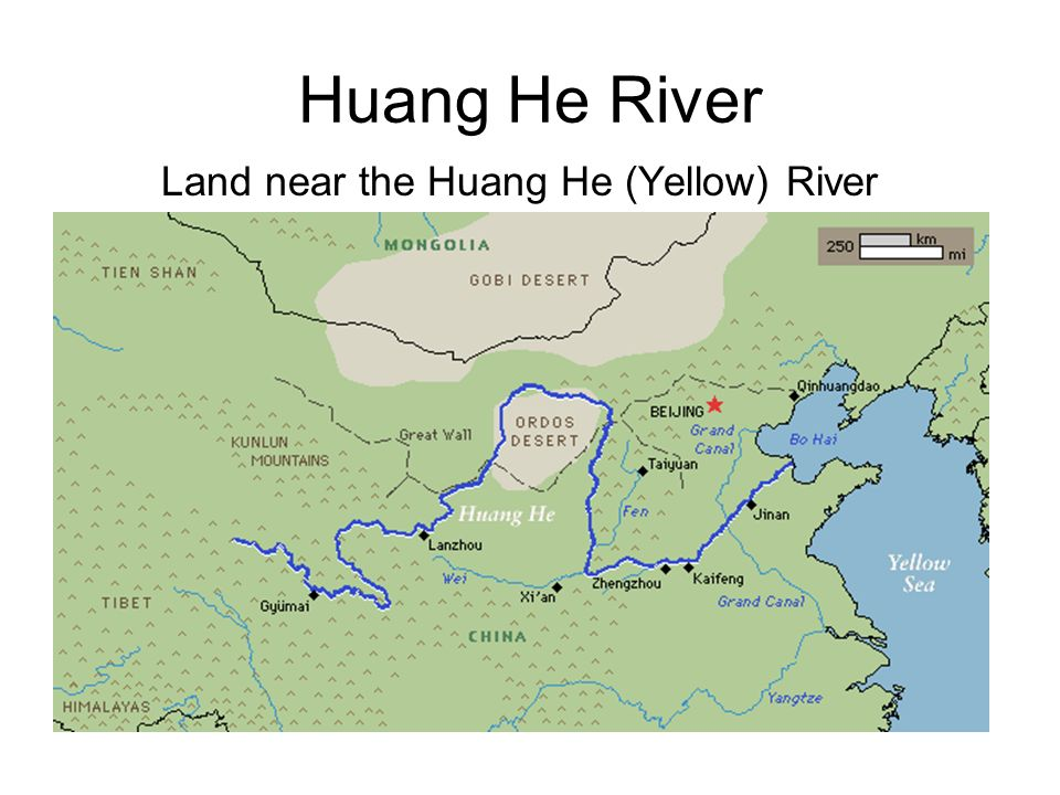 Huang He River Map | My Blog