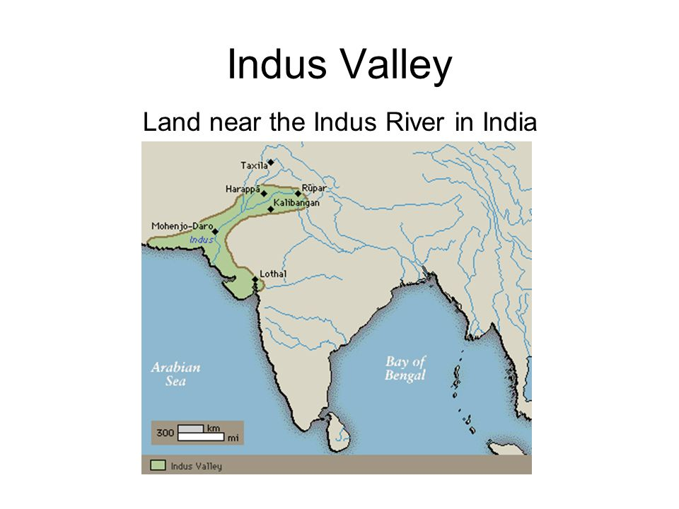 Indus Valley Land near the Indus River in India