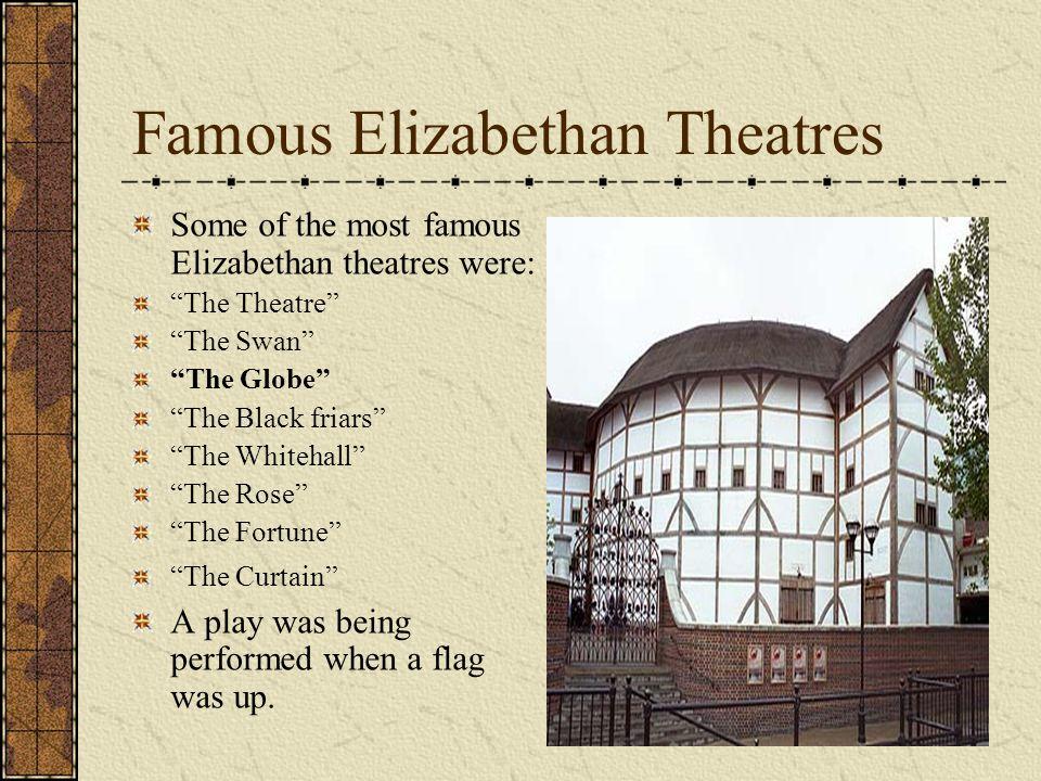 Famous Elizabethan Theatres