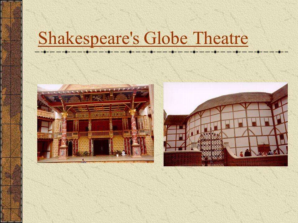 Shakespeare s Globe Theatre