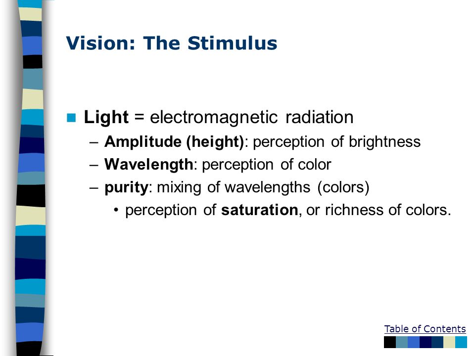 Light = electromagnetic radiation