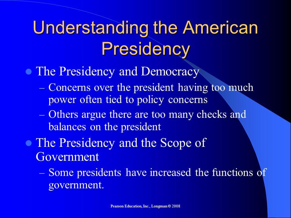 Understanding the American Presidency