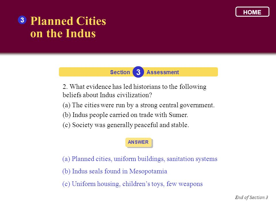 Planned Cities on the Indus 3 3