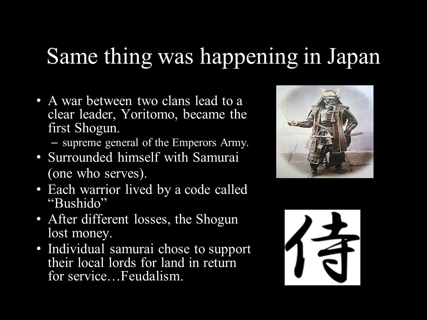 Same thing was happening in Japan