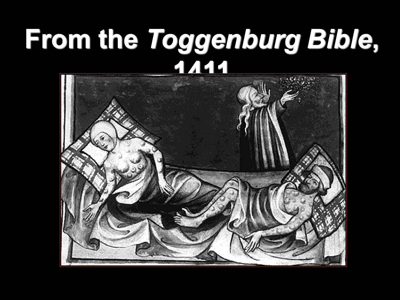 From the Toggenburg Bible, 1411