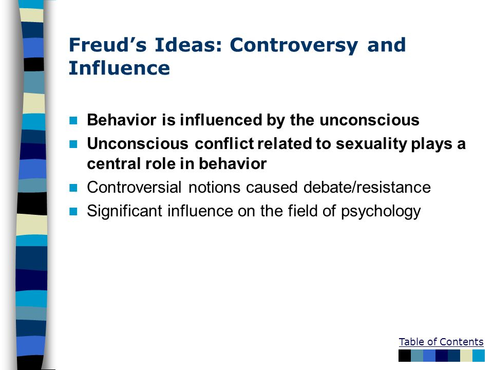 Freud's Ideas: Controversy and Influence