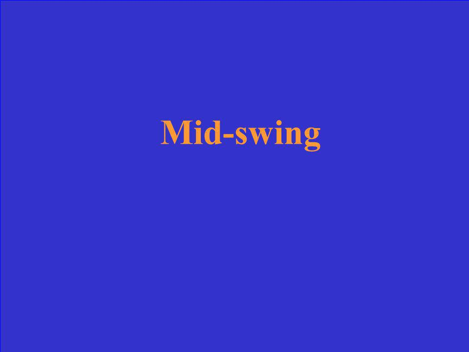 Mid-swing