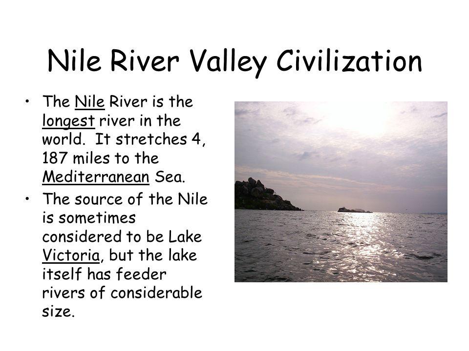 Nile River Valley Civilization