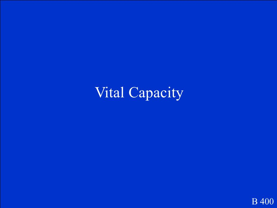 Vital Capacity B 400