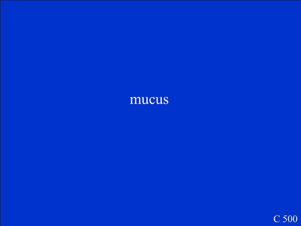 mucus C 500