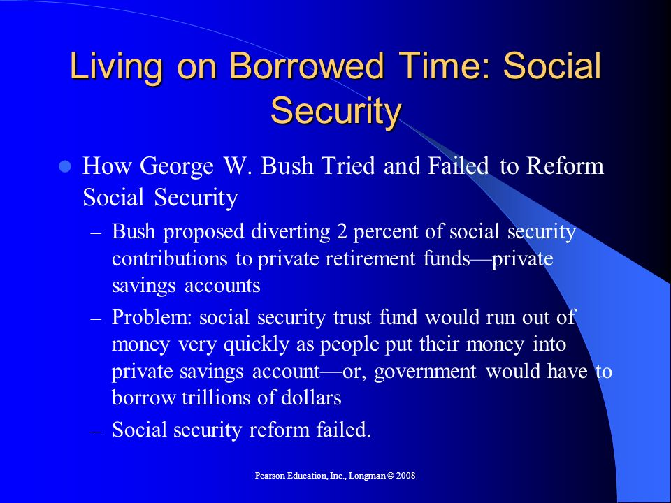 Living on Borrowed Time: Social Security