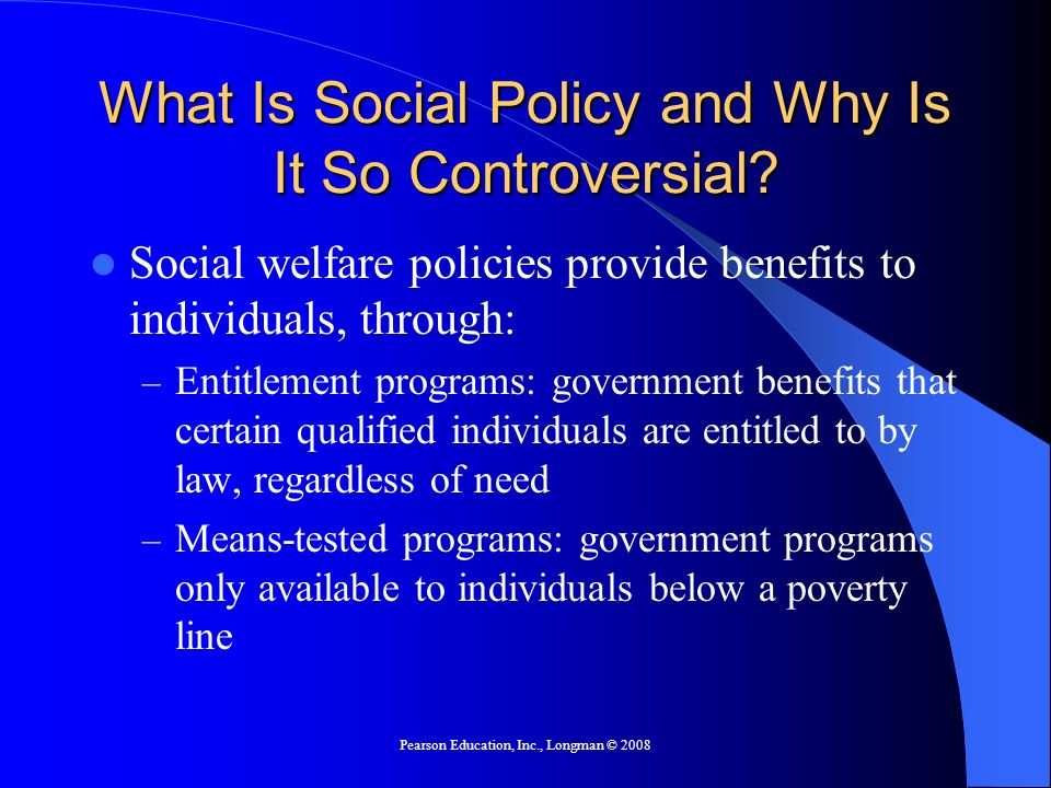 What Is Social Policy and Why Is It So Controversial