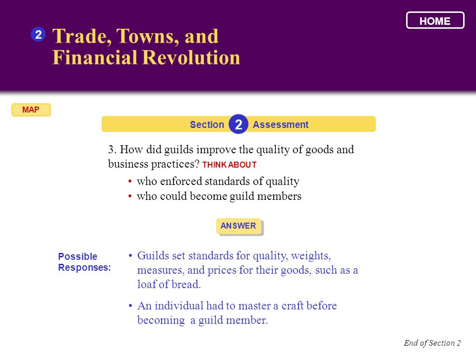 Trade, Towns, and Financial Revolution 2 2