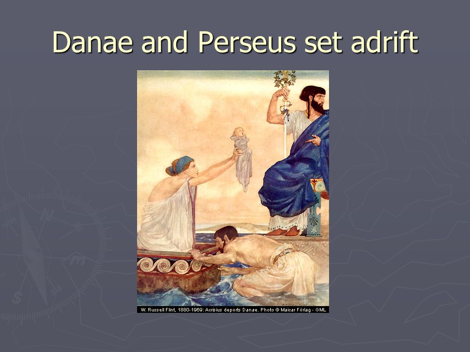 Danae and Perseus set adrift