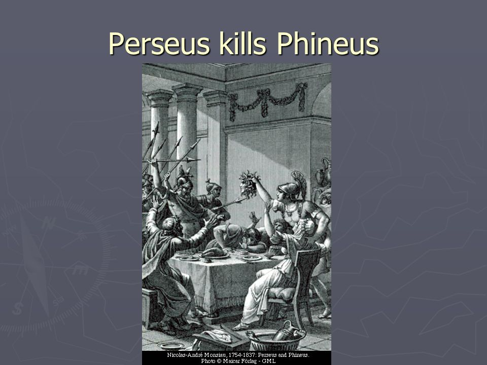 Perseus kills Phineus
