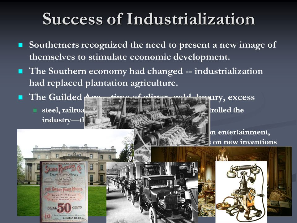Success of Industrialization