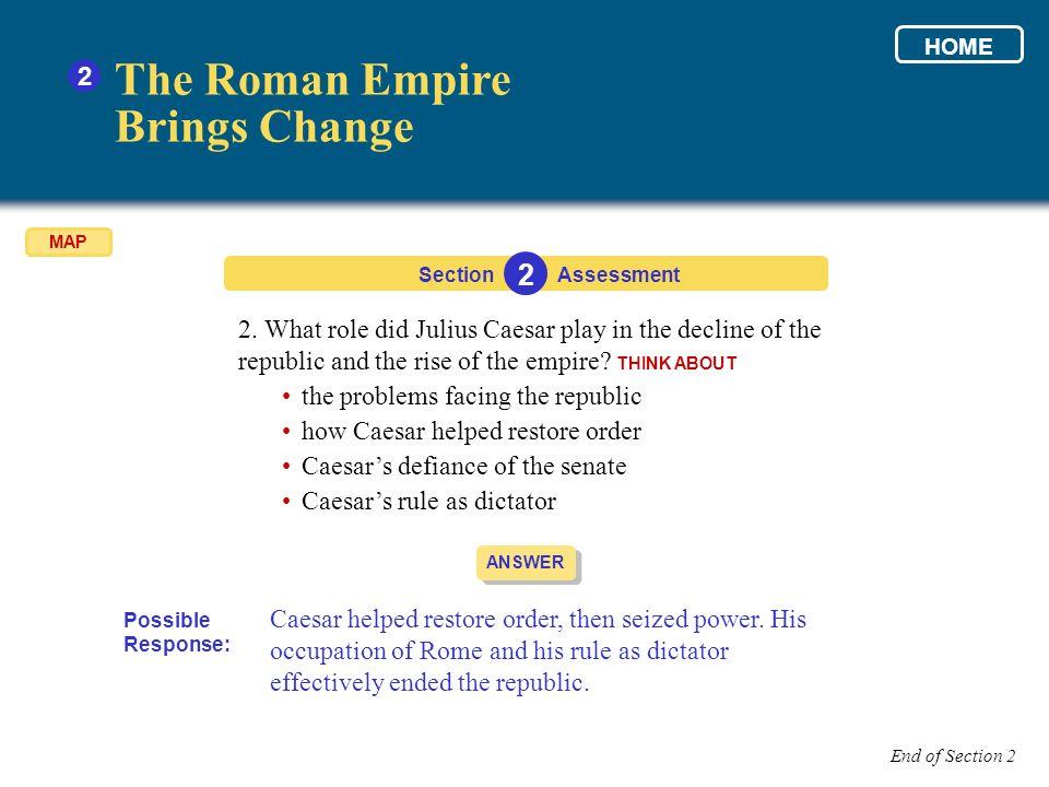 The Roman Empire Brings Change 2 2