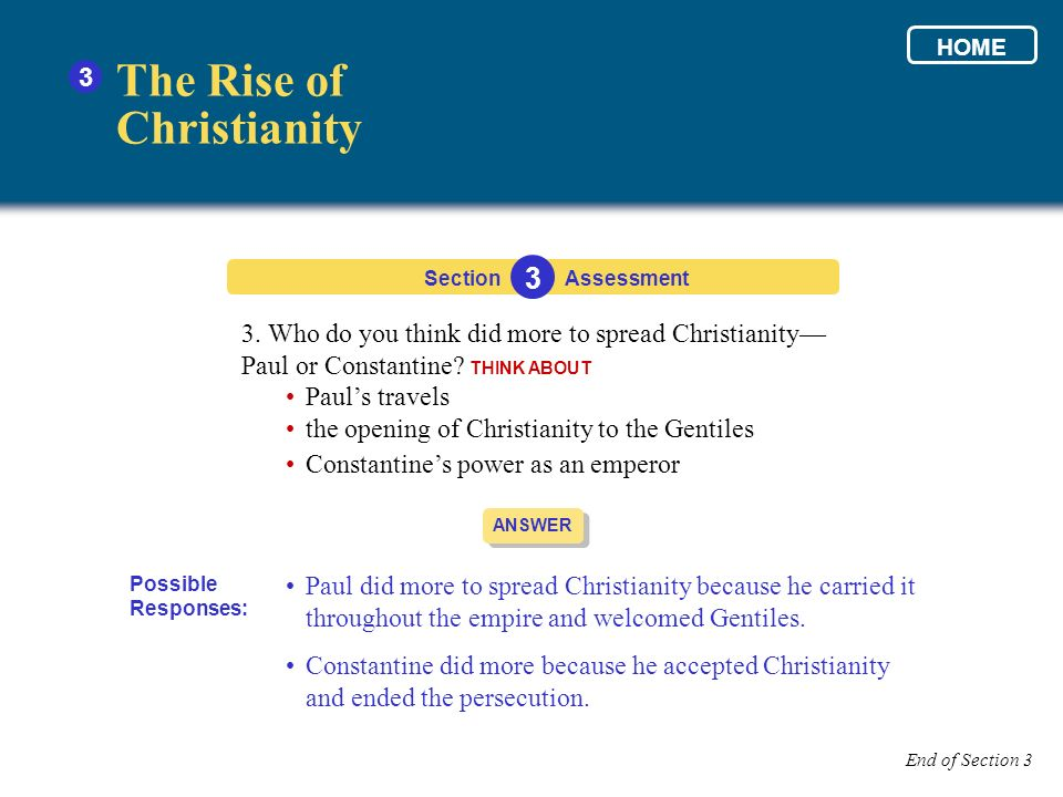 The Rise of Christianity 3 3