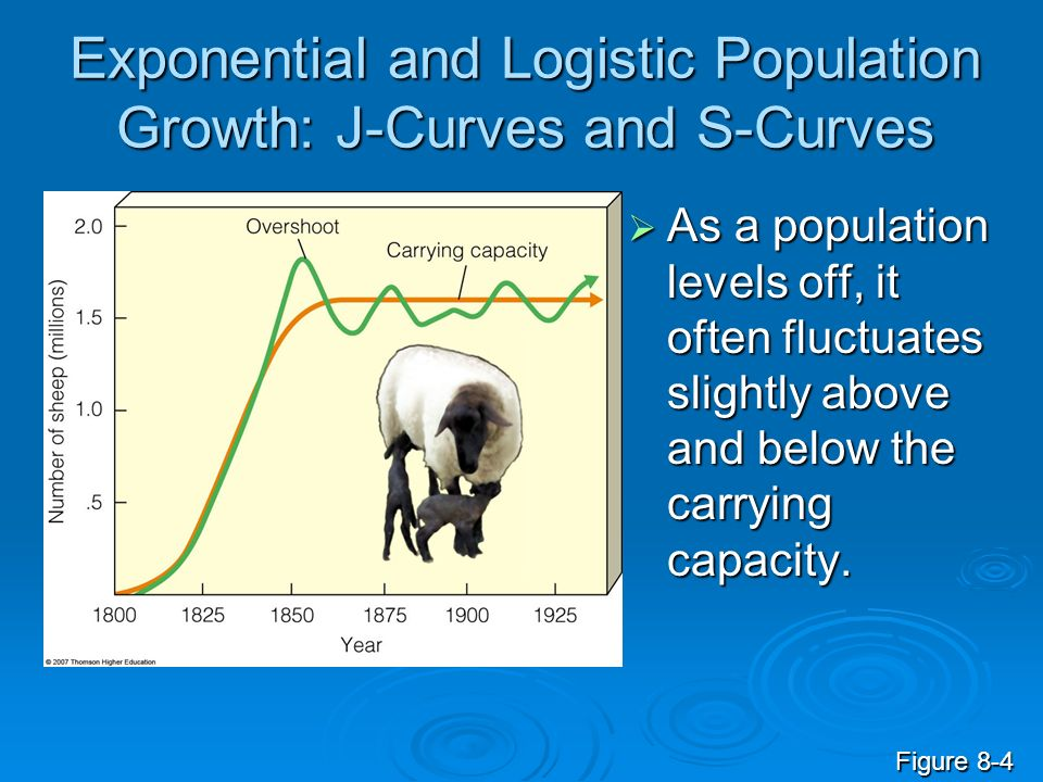 Exponential and Logistic Population Growth: J-Curves and S-Curves
