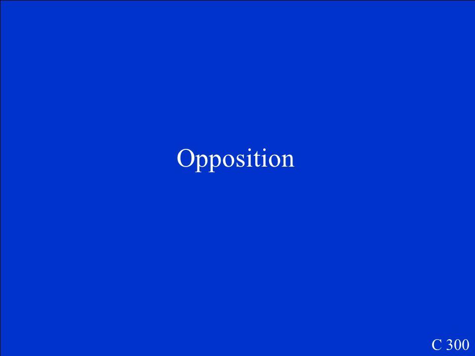 Opposition C 300
