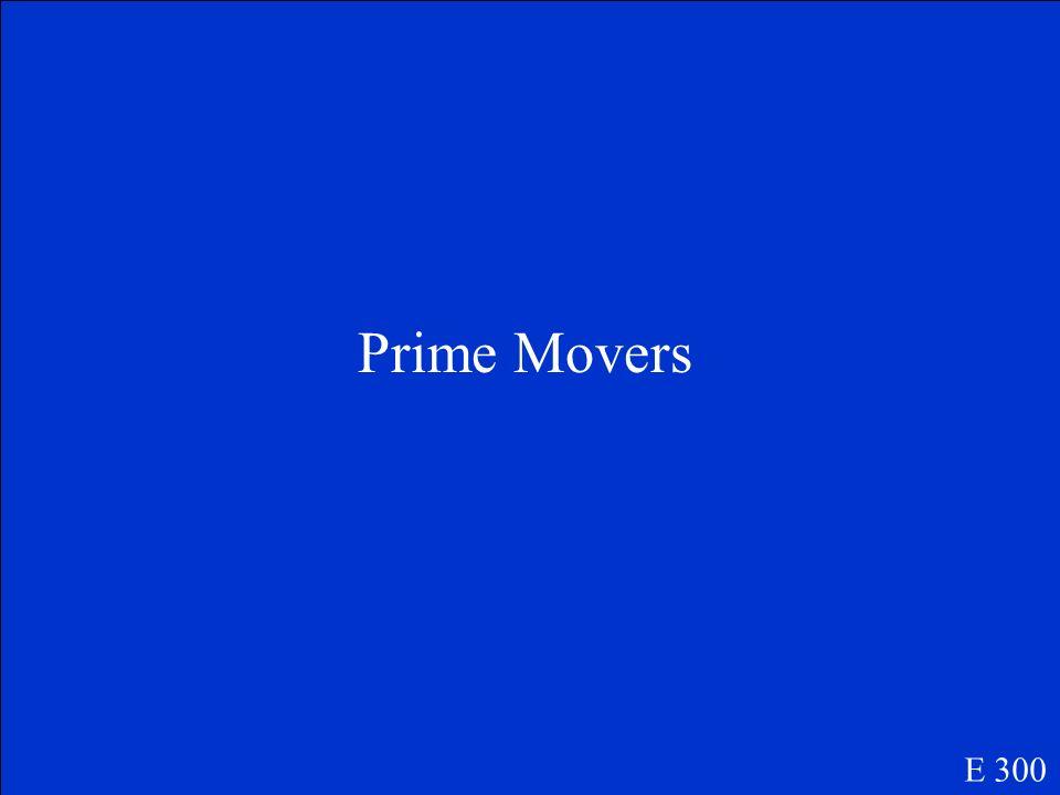 Prime Movers E 300