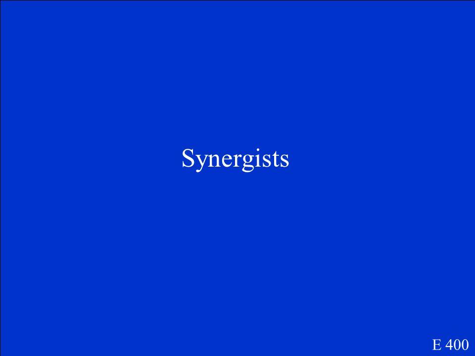 Synergists E 400