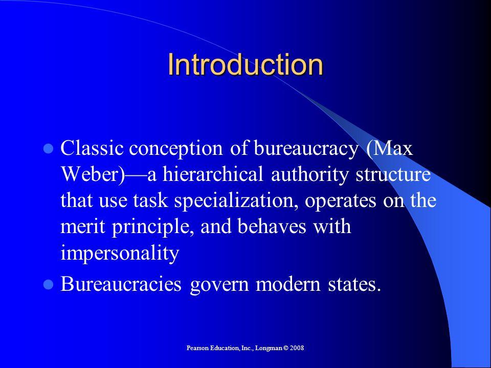 principles of bureaucracy by max weber pdf