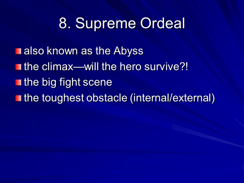 8. Supreme Ordeal also known as the Abyss