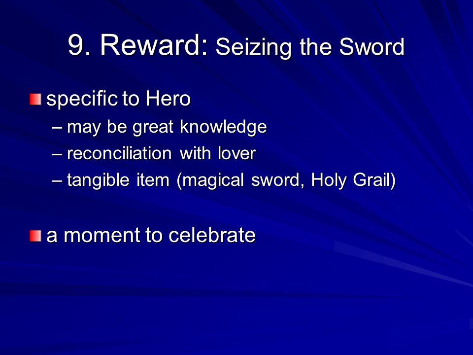 9. Reward: Seizing the Sword