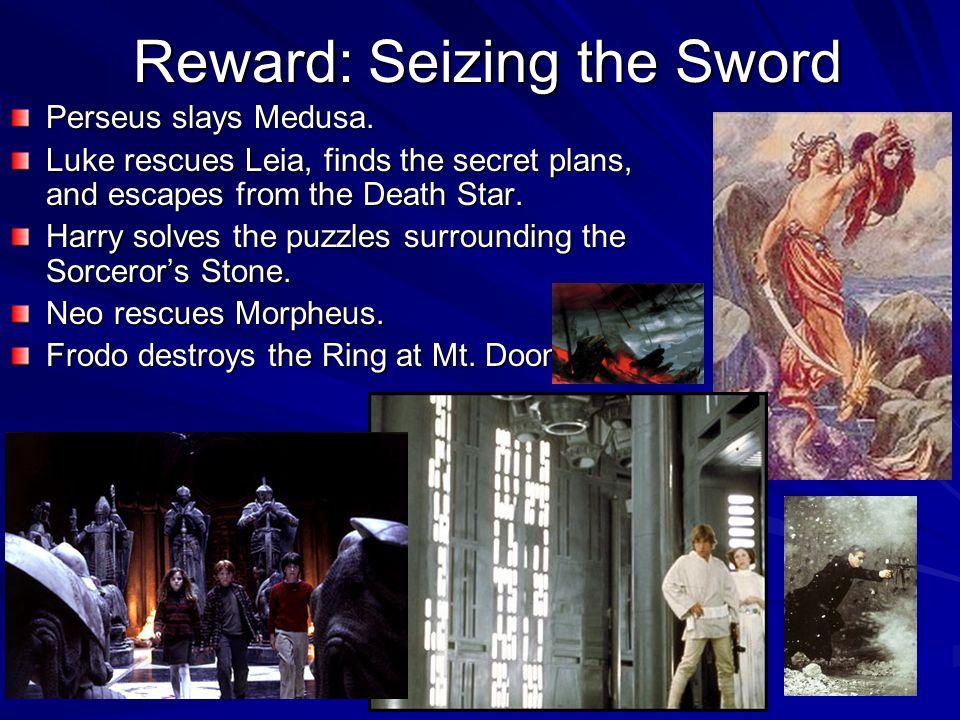 Reward: Seizing the Sword