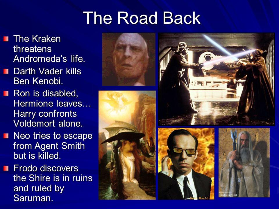 The Road Back The Kraken threatens Andromeda's life.