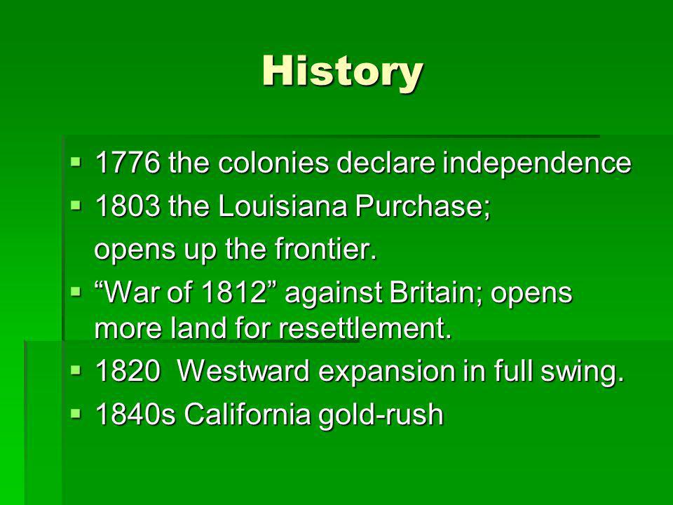 History 1776 the colonies declare independence