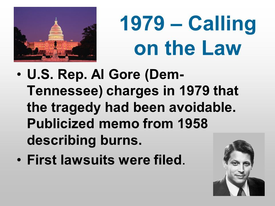 1979 – Calling on the Law