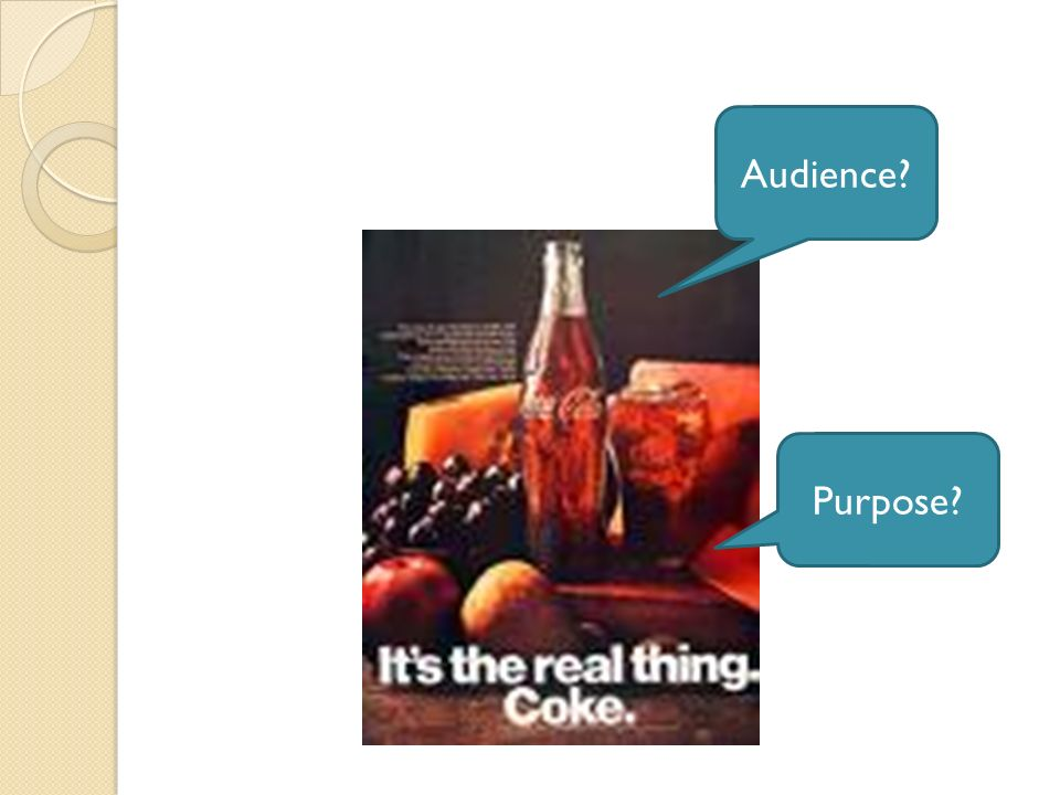 Audience Purpose
