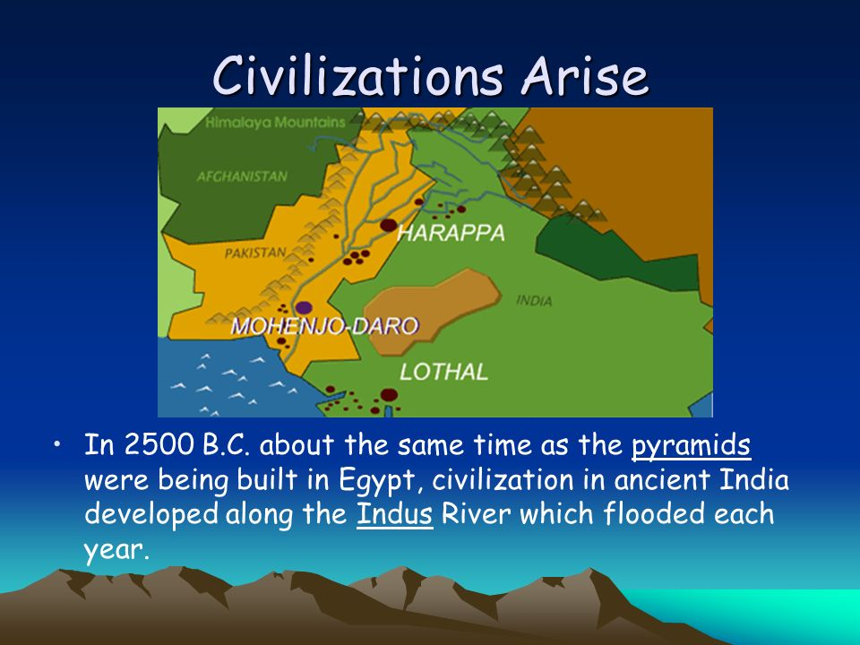 Civilizations Arise