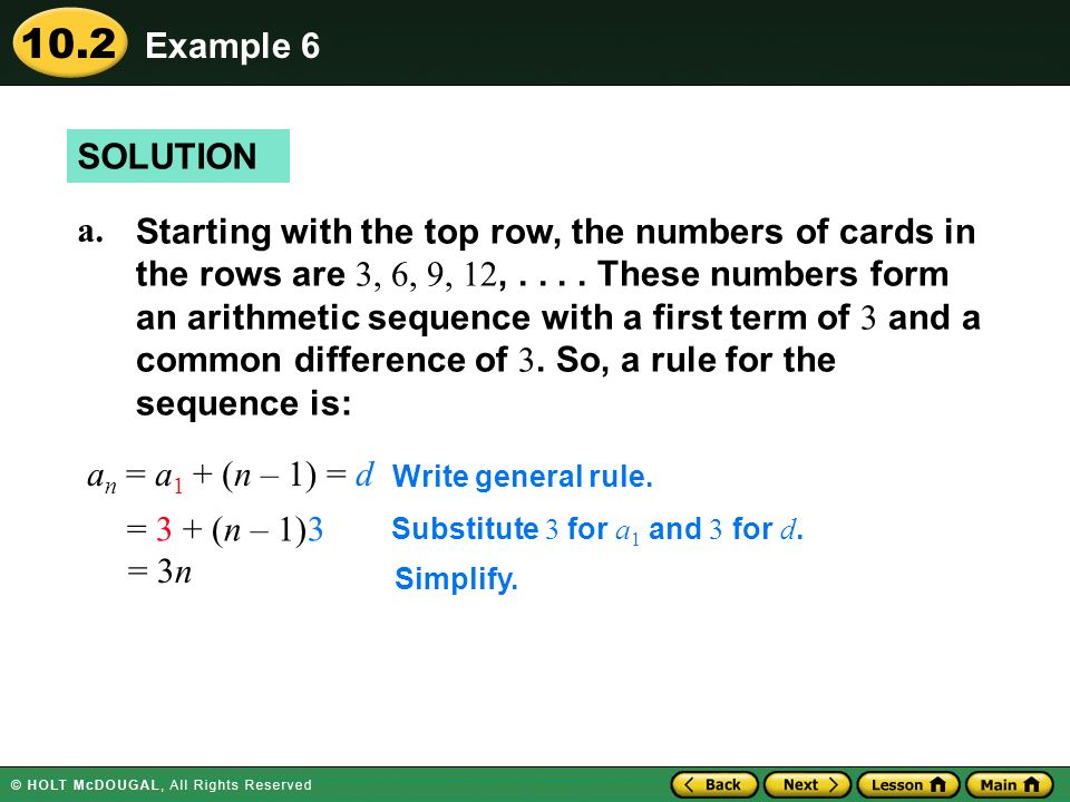 Example 6 SOLUTION.