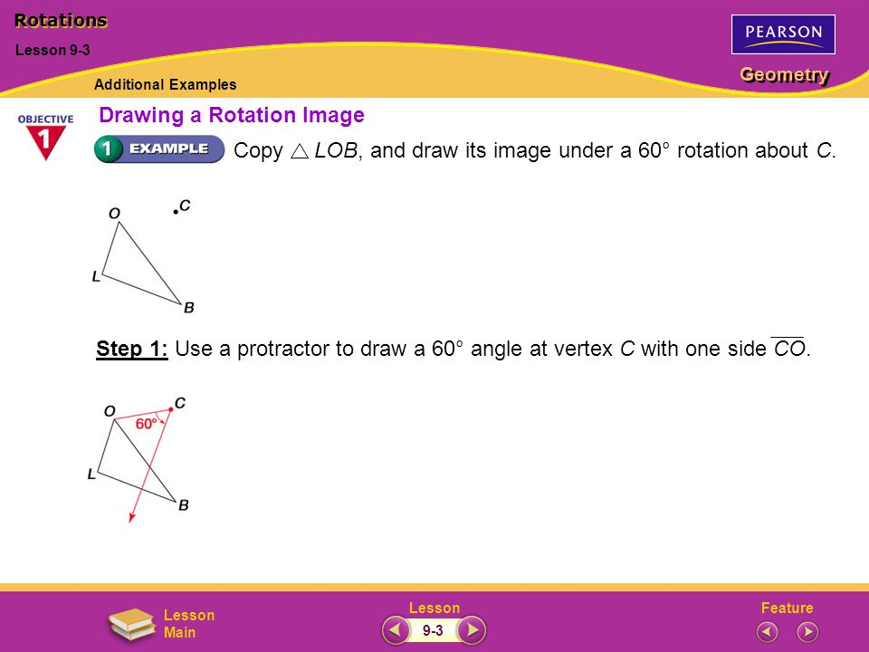 Drawing a Rotation Image