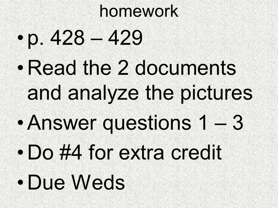 Read the 2 documents and analyze the pictures Answer questions 1 – 3