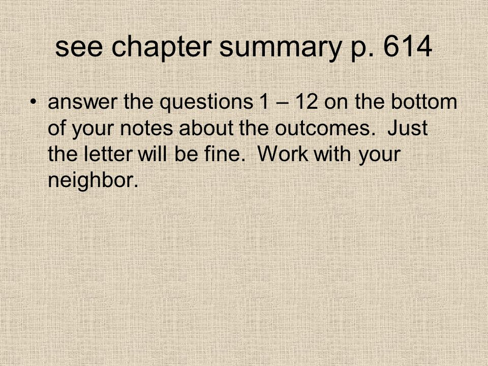 see chapter summary p. 614