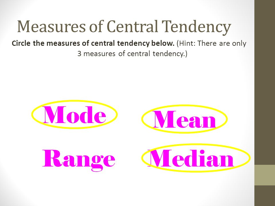 how were measures of central tendency used in the study Or any other statistics expert-----how were measures of central tendency used in the study did the study use the most - answered by a verified tutor.
