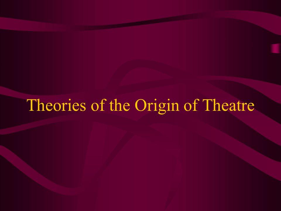 Theories of the Origin of Theatre