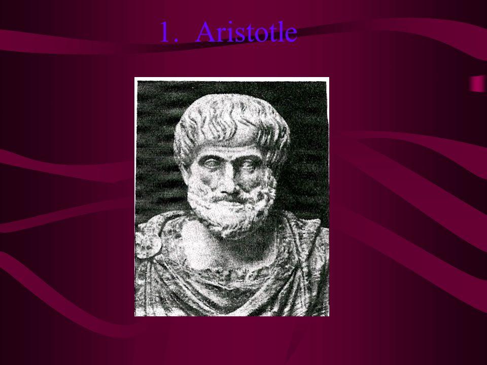 1. Aristotle