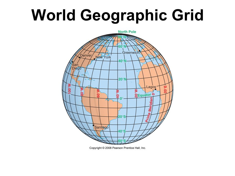 World Geographic Grid