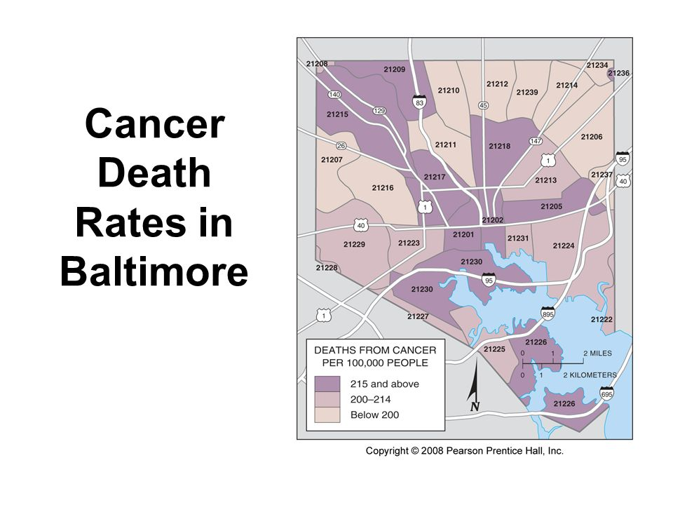 Cancer Death Rates in Baltimore