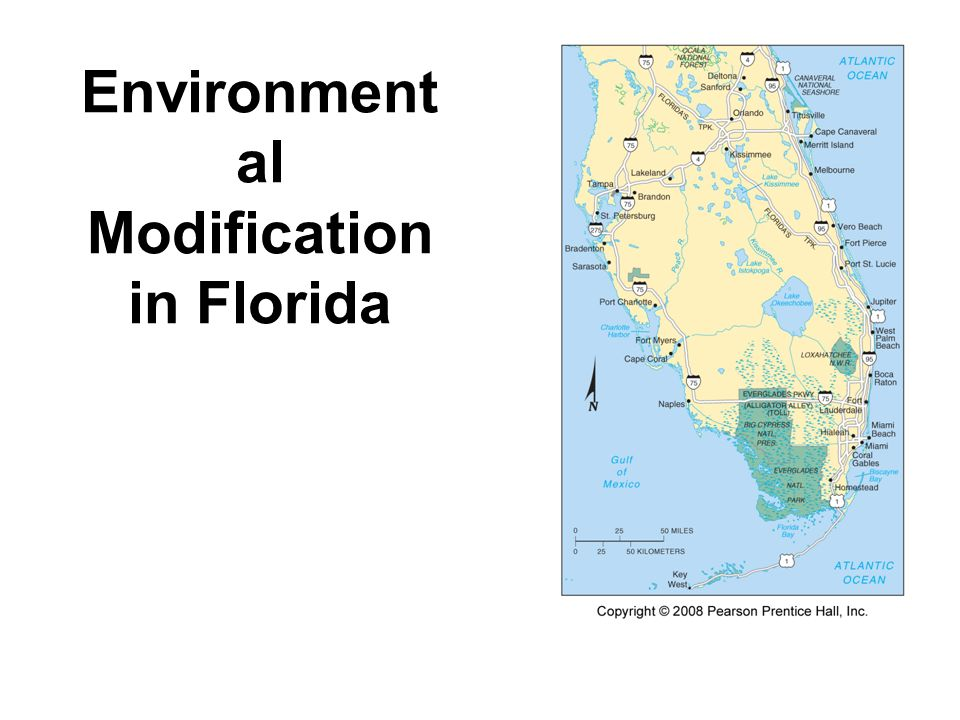Environmental Modification in Florida