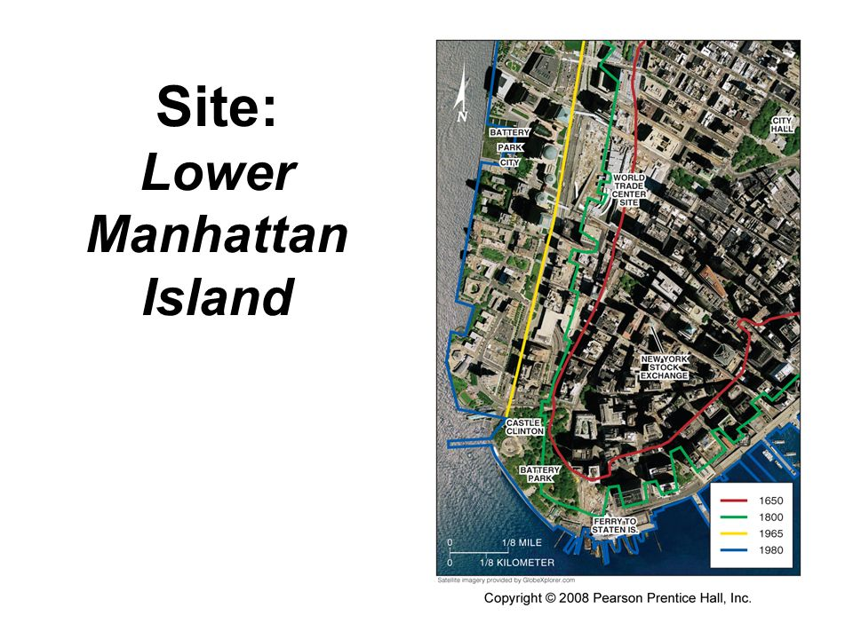 Site: Lower Manhattan Island
