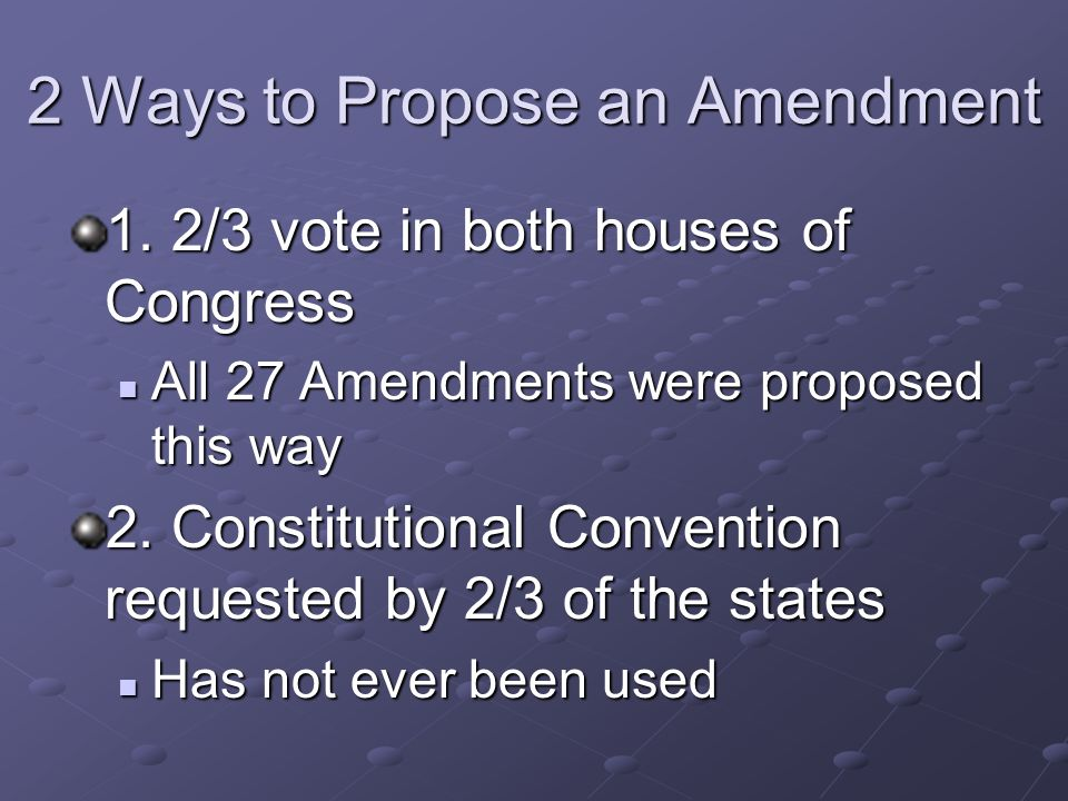 Chapter 3 The Constitution Of The United States Of America Ppt